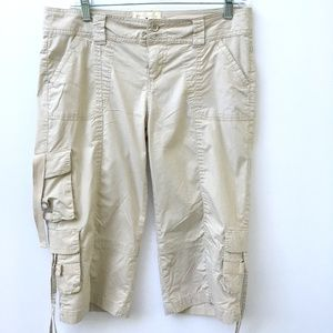 CI Sono by Cavalini 7-Pocket Cargo Capri Large